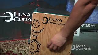 NAMM 2018 Introducing the All New Luna Cajon by Luna Percussion