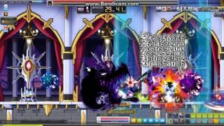 Maplestory [MapleSEA] Demon slayer 5th job solo hard magnus