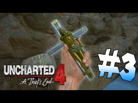 I STOLE SAINT DISMAS! | Uncharted: A Thief's End - Part 3