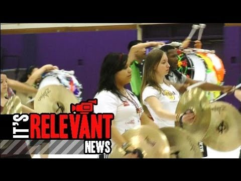 Students Gear Up For Percussion Competition