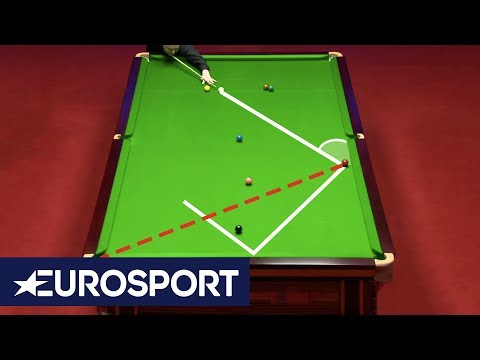 John Higgins' Incredible Double Gets Standing Ovation! | World Snooker Championship 2019 | Eurosport
