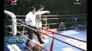 Şevket Biçer - Akın Dövüş Arenası  (Rus Rakibini Nakavt Ettiği Maç)