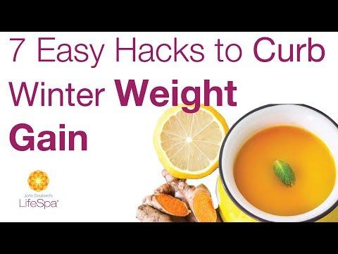 7 Easy Hacks to Curb Winter Weight Gain | John Douillard