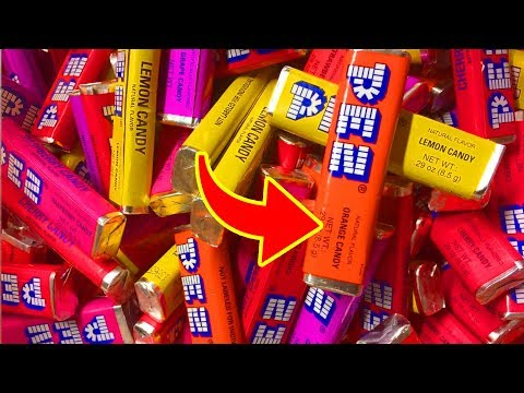 Top 10 UNTOLD TRUTHS Of PEZ Candy!!!