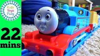 Thomas and Friends Tomy Road and Rail Unboxing Compilation | Plarail Toy Trains for Kids