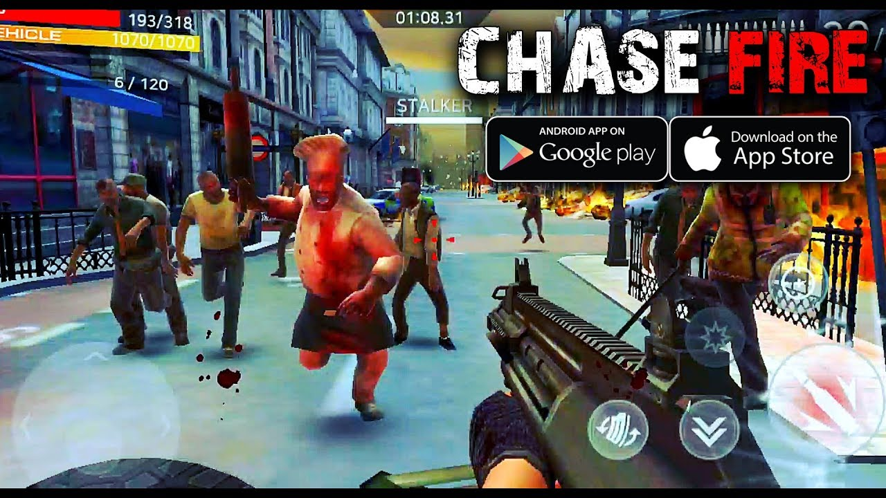 [Android/IOS] CHASE FIRE - Zombie FPS Gameplay