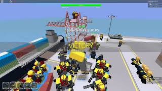 Roblox Tower Defence Simulator Beated map Harbor