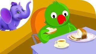 Little Poll Parrot - Nursery Rhyme