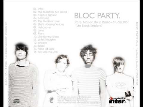 Bloc Party Les Black Sessions Paris Studio 105