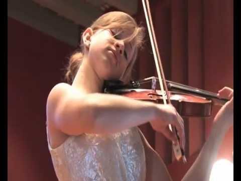 Ariana Puhar E.Lalo Symphonie Espagnole 2. Satz : Scherzando Allegro molto