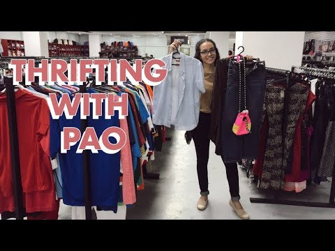 THRIFTING WITH PAO | Episodio 3 | Ropa de Segunda Mano