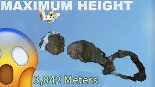REACHING THE MAXIMUM HEIGHT ON THE GAME [Using Gravity 5 & Smackdown 5] | ROBLOX Broken Bones IV