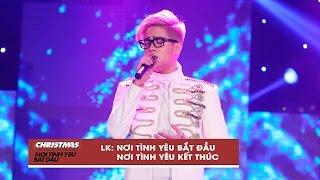 liên khúc: nơi tình yêu bắt đầu - bùi anh tuấn | christmas live concert (official video)