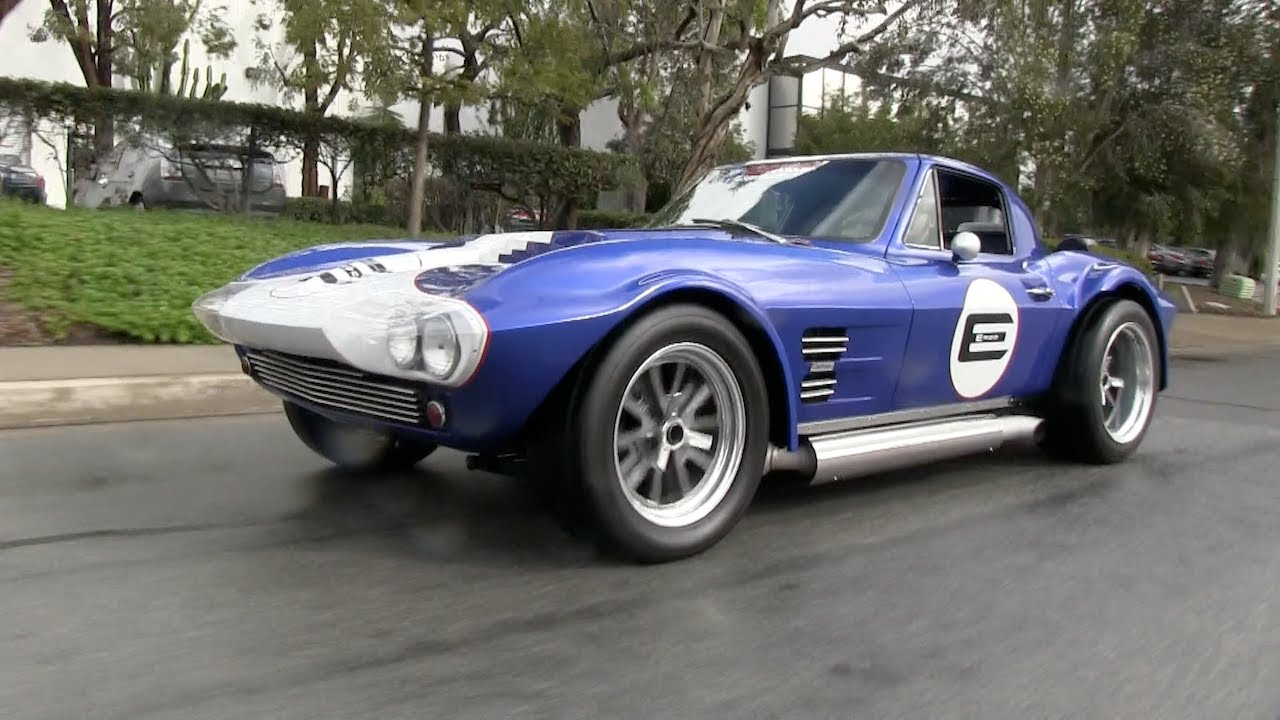 Classics Revealed Legendary Corvette Grand Sport Remade