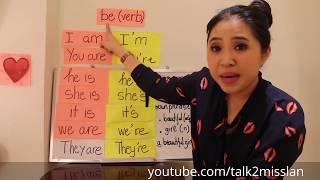 """[Ngữ pháp tiếng Anh cơ bản] Bài 02: Cách sử dụng động từ """"to be"""" (sửa lỗi người mới học tiếng Anh)"""