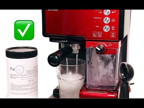 Breville PrimaLatte Espressomaschine Reinigung Siebträger (Kaffeefett entfernen)