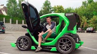 Обзор электрокара Twizy Sport(Любите фан? А авто? И инновации тоже любите? Ну тогда это видео однозначно для Вас - рассказываем о замечател..., 2016-09-30T09:15:03.000Z)