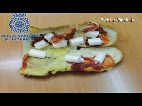 'Cocaine sandwich': Man arrested in Spain for drug smuggling snack