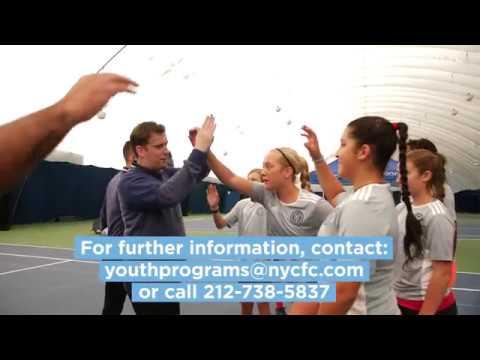 NYCFC Winter Soccer Camp at Randall's Island