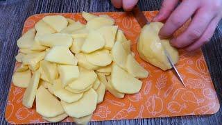Самая вкусная жареная картошка самый простой рецепт Картошка жареная и залитая яйцами