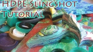 How To Make a Recycled Slingshot From HDPE Bottle Caps - Strong, Lightweight, Waterproof