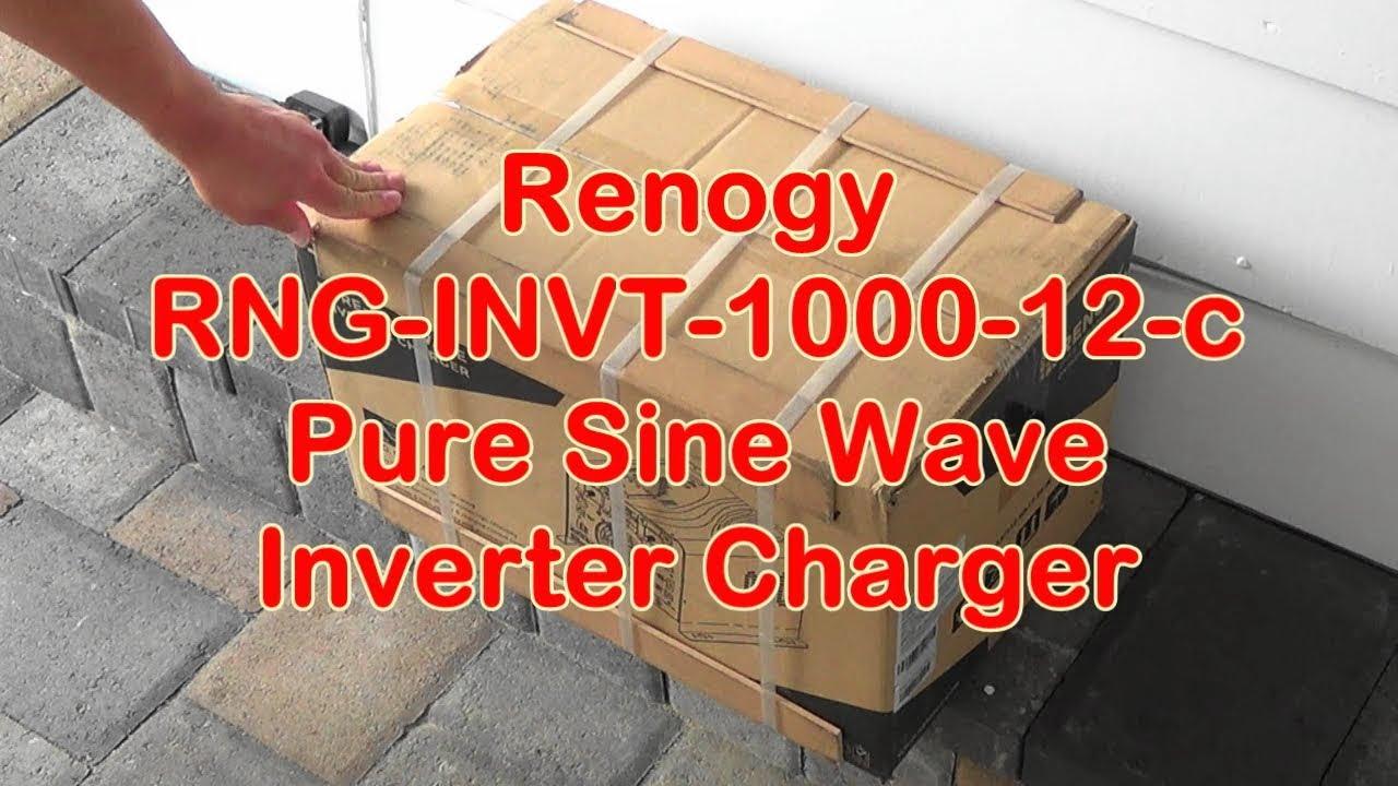 Renogy 1000 Watt Pure Sine Wave Inverter Charger Rng Invt 12 C Cotekinverterandbatterybankwiringjpg