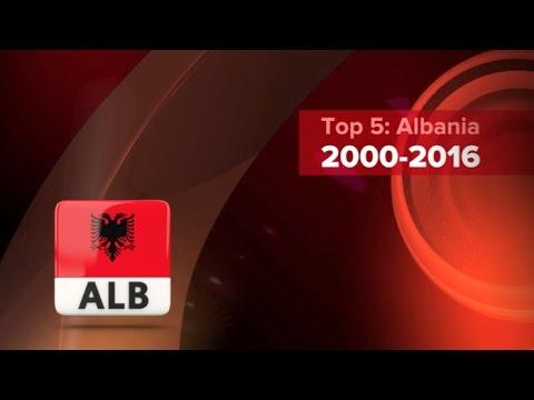 My top 5 (2000-2016) ALBANIA