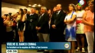 VUELVE EL BANCO COINAG