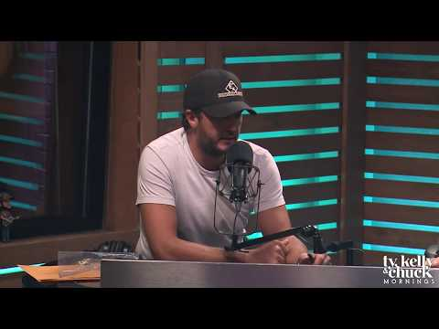 "Luke Bryan Tells About Writing ""Light It Up"" with Brad Tursi from Old Dominion"