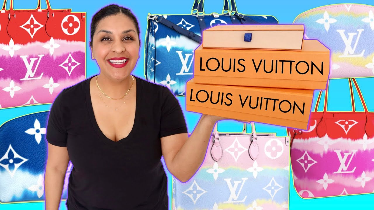 LOUIS VUITTON UNBOXING - Escale 2020 Collection