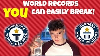 World Records That YOU Can Break!