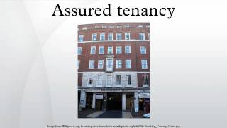 Assured tenancy