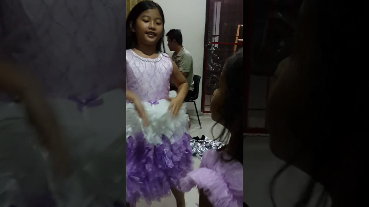 Baju Pesta Anak Perempuan Pakaian Ulang Tahun Gaun Kondangan Seragam