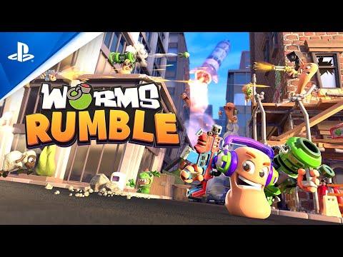 Worms Rumble - Open Beta Trailer | PS5