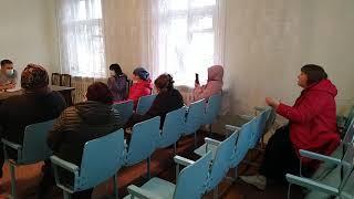 Общение жителей села Чехов с администрацией села Чехов 22 октября 2020 года