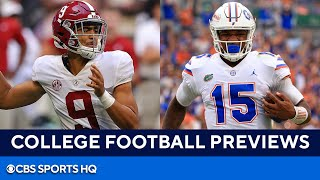 College Football Week 3: Alabama vs Florida, Auburn vs Penn State, \u0026 MORE   CBS Sports HQ