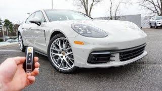 2018 Porsche Panamera 4: Start Up, Exhaust, Test Drive and Review