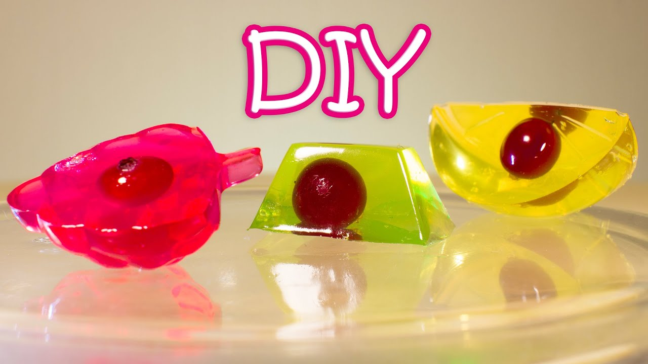 Jello Ice Cubes For Cake