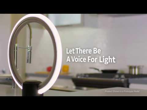 GE Integrates Amazon Alexa Inside Sleek Table Lamp