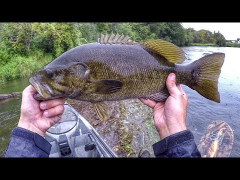 Rainy Day Bass Fishing