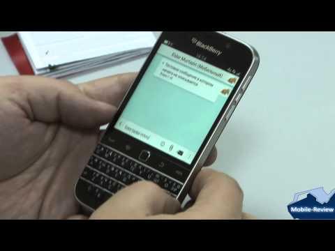 Видеообзор BlackBerry Classic