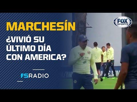 Marchesín salió llorando en entrenamiento de América ¿Se va al Porto?