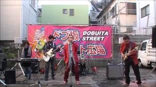 2013.12.21 横須賀どぶ板通り 路上ライブ.