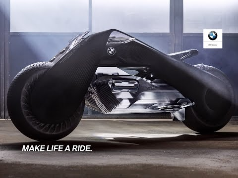 the bmw motorrad vision next 100 - youtube