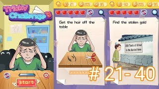 Tricky Challenge 3 Level 21 to 40 Answers and Walkthrough