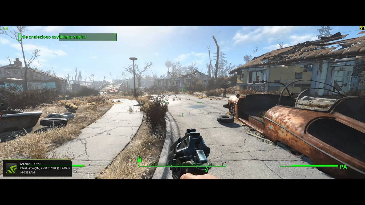 21 9 Fallout 4: Fallout 4 21:9 1440p GTX 970 Gameplay Ultrawide Monitor