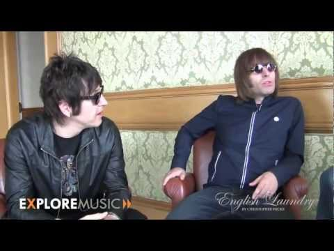 Alan Cross sits down with Beady Eye for Exploremusic