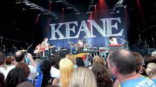 Keane - Back In Time (Live Dalby Forest, North Yorkshire 2010)