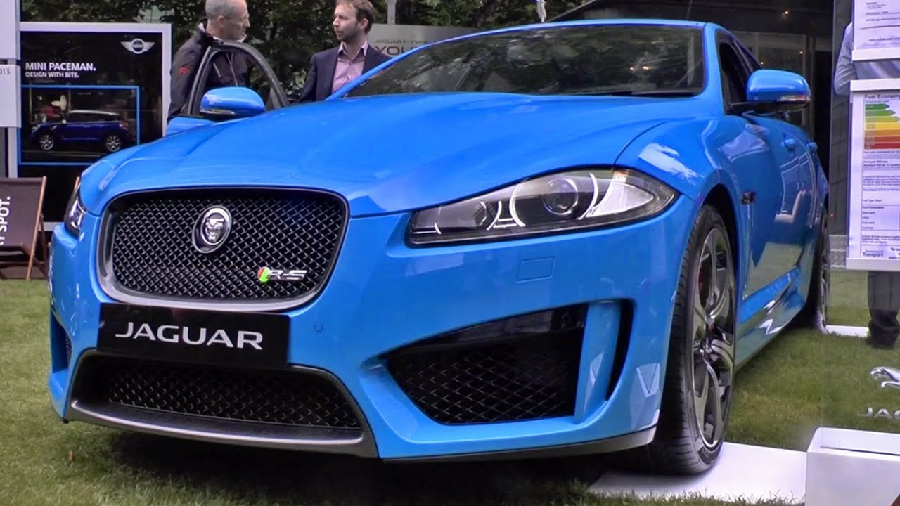 Jaguar XF R-S start-up & revs - YouTube