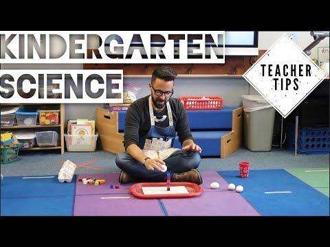 Teacher Tips- Kindergarten Science